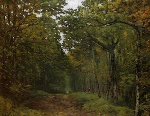 Alfred Sisley - Avenue of Chestnut Trees 1867