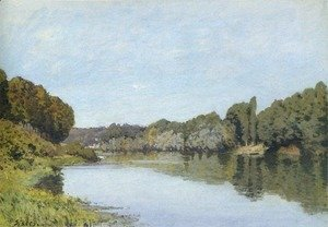 Alfred Sisley - The Seine at Bougival 1873