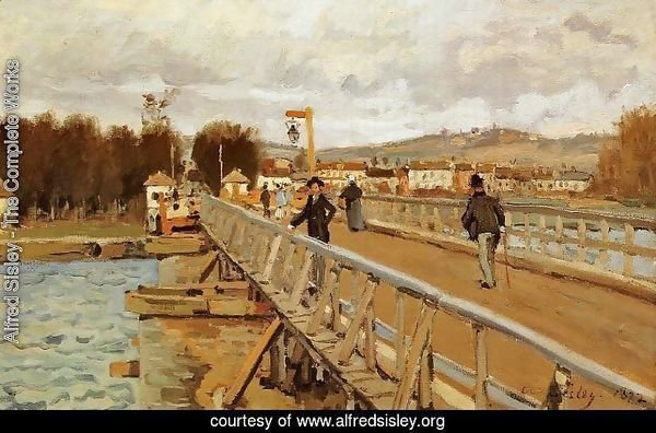 Footbridge at Argenteuil, 1872