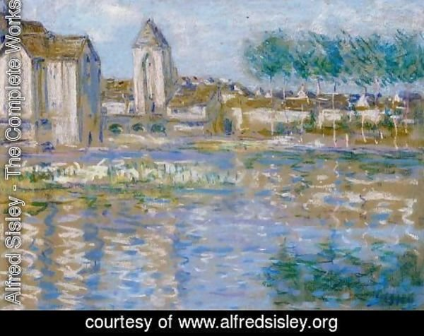 Alfred Sisley - Moret-sur-Loing, c.1890