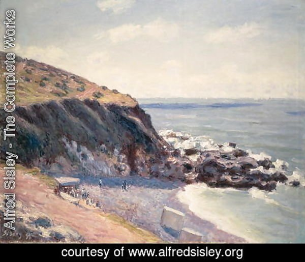 Alfred Sisley - Morning, Lady's Cove, Langland Bay, 1891