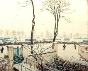 Snow Scene at Moret, c.1894