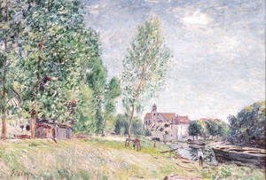 The Builder's Yard at Matrat, Moret-sur-Loing