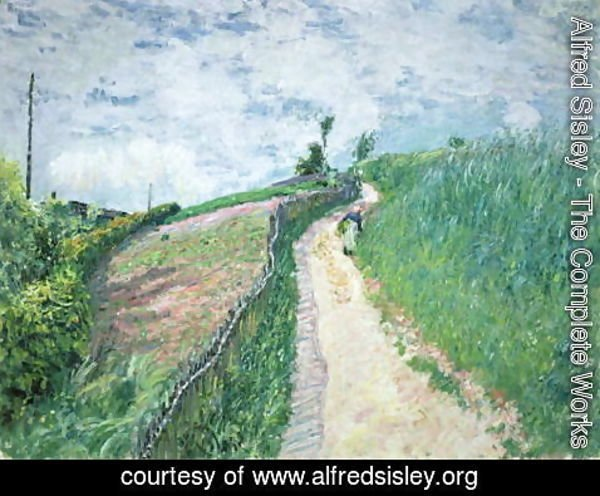 Alfred Sisley - Path Leading to Ville D'Avray, 1879