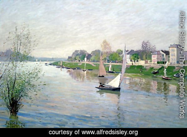 The Seine at Argenteuil, 1872