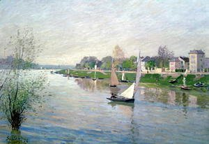 Alfred Sisley - The Seine at Argenteuil, 1872