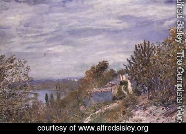 Alfred Sisley - Path in the Gardens of By, May Morning, c.1891