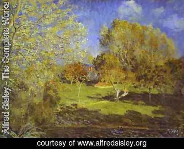 Alfred Sisley - The Garden of Hoschede Family, 1881