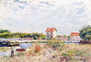 The Loing at Saint-Mammes, 1885