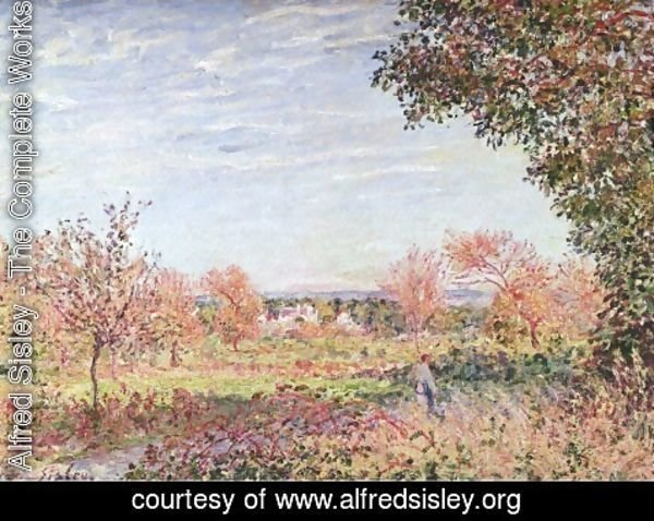 Alfred Sisley - September Morning, c.1887