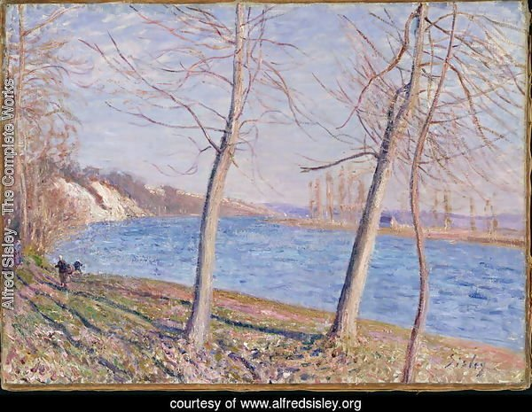 The Banks of the River at Veneux, 1881