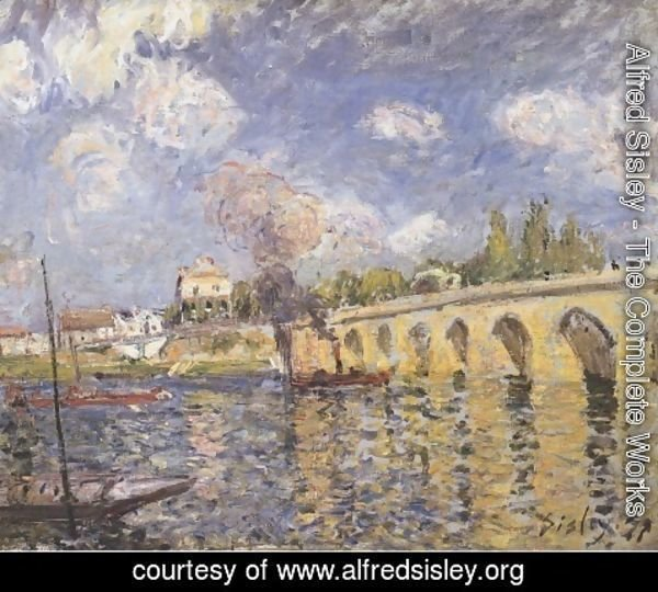 Alfred Sisley - The Bridge, 1871