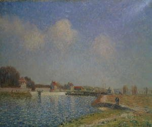 The Loing at Saint-Mammes, 1885 (2)