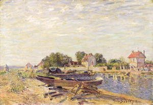 The Loing at Saint-Mammes, 1885 2