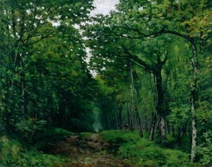 The Avenue of Chestnut Trees at La Celle-Saint-Cloud, 1867