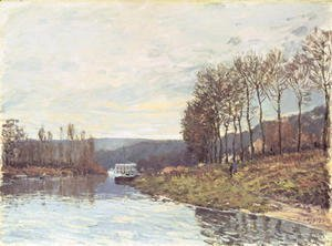 Alfred Sisley - The Seine at Bougival, 1873