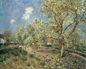 Springtime at Veneux, 1880