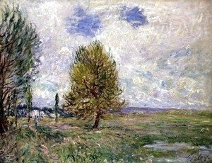 Alfred Sisley - Plain at Veneux