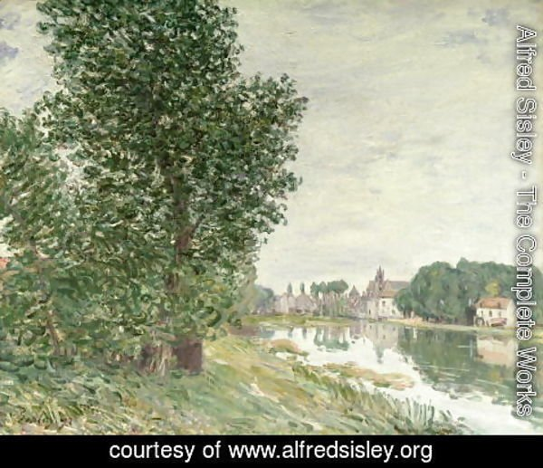 Alfred Sisley - Moret-sur-Loing, 1892