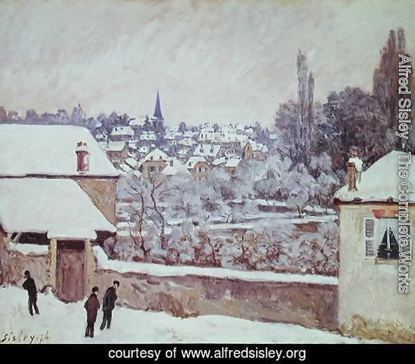 Winter in Louveciennes, 1876