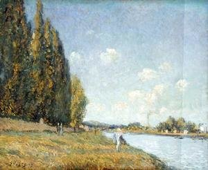 Alfred Sisley - The Seine at Billancourt, 1879
