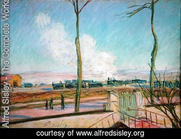 Alfred Sisley - The Goods Station