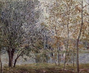 The Loing Canal in Spring, 1892