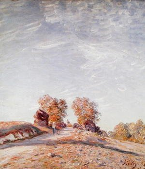 Uphill Road in Sunshine, 1891