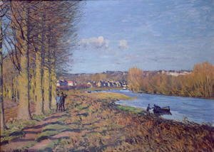 Alfred Sisley - Winter Morning, 1874