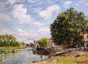 Alfred Sisley - Moret-sur-Loing, 1885