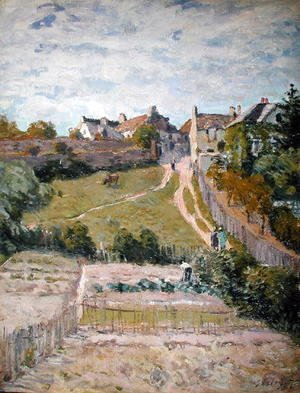 Alfred Sisley - The Climbing Path, 1875