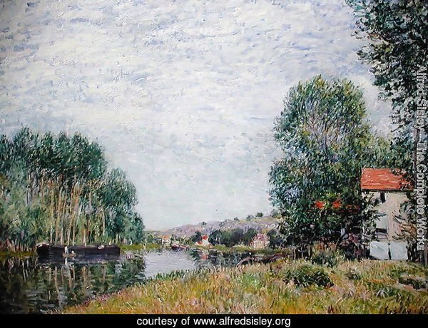 The Banks of the Loing at Moret, 1886