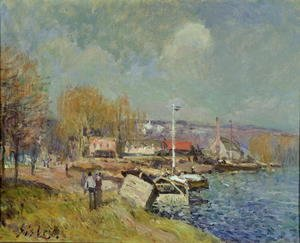 The Seine at Port-Marly, 1877