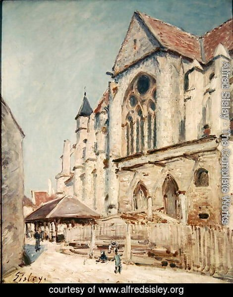 The Church at Moret 2