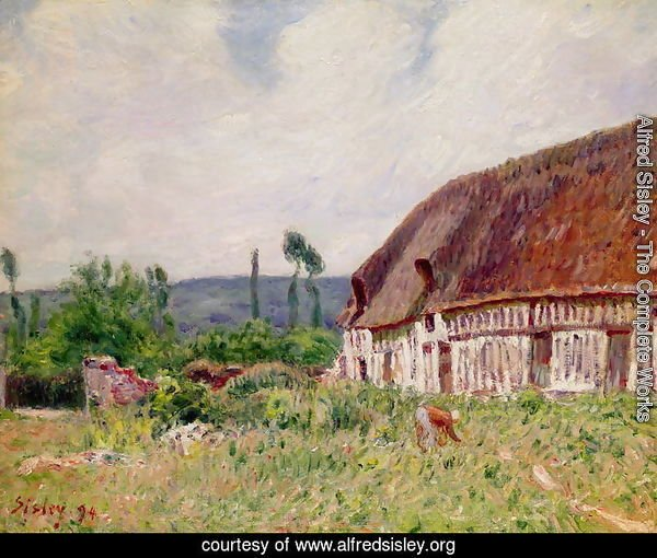 Thatched Cottage in Normandy, 1894