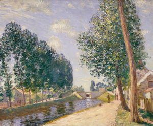 The Loing Canal at Moret, c.1892