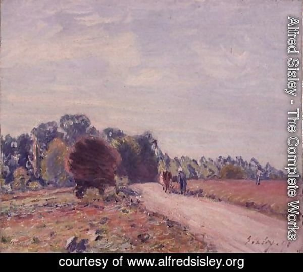 The Road through the Meadows, Morning, 1891