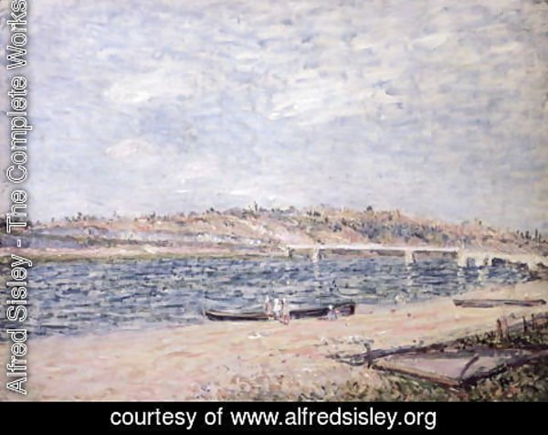 Alfred Sisley - The River Banks at Saint-Mammes
