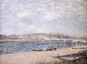 The River Banks at Saint-Mammes