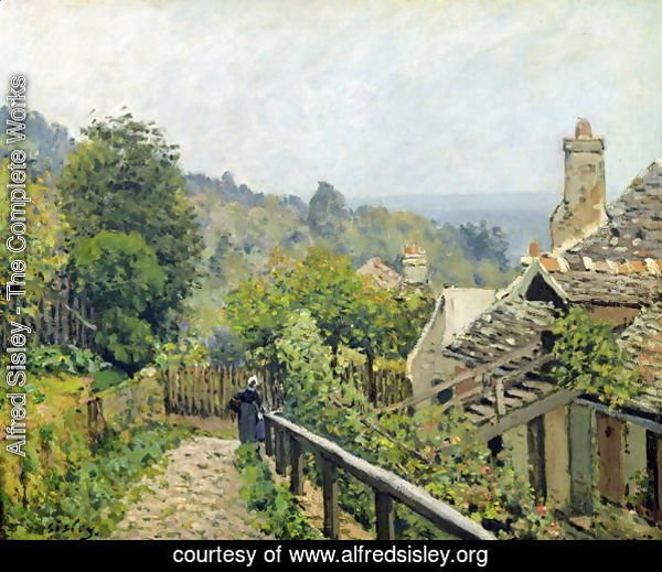 Louveciennes or, The Heights at Marly, 1873