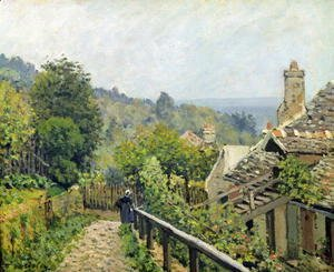 Alfred Sisley - Louveciennes or, The Heights at Marly, 1873