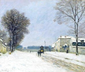 Alfred Sisley - Winter, Snow Effect, 1876