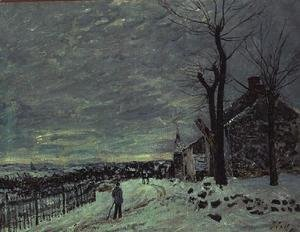 Snow at Veneux-Nadon, c.1880