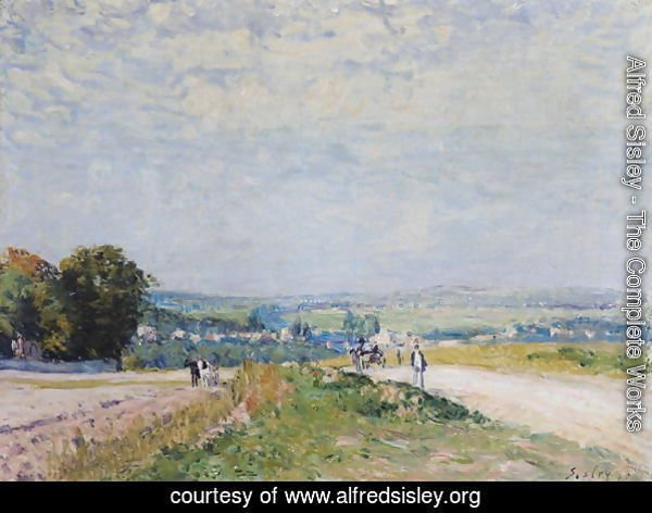 The Road to Montbuisson at Louveciennes, 1875