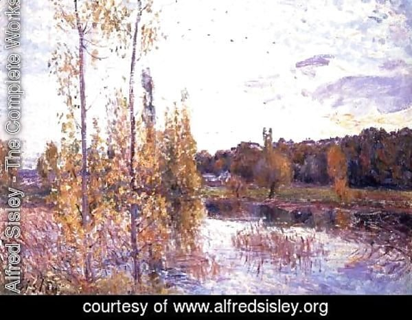 Alfred Sisley - The Lake at Chevreuil