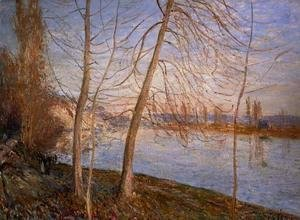 Alfred Sisley - Winter Morning, 1878
