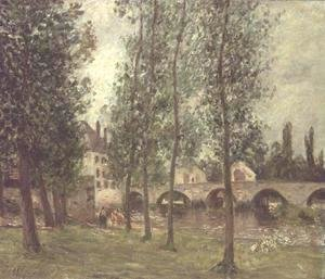 The Bridge at Moret, 1888