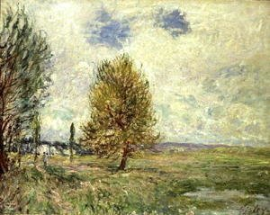 Alfred Sisley - The Plain at Veneux-Nadon