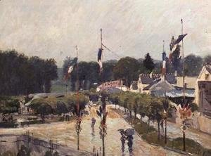 Alfred Sisley - Fourteenth of July at Marly-le-Roi, 1875