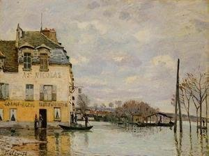 Alfred Sisley - Flood at Port-Marly